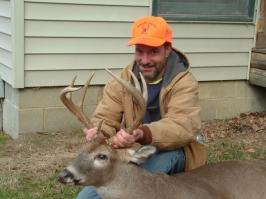 Charlie Bradshaw's 230 pound buck