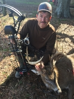 Bobby Hubbard with a nice bow buck