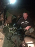Brandon Bishop with a nice bow harvest
