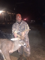 Ryan Badia with a197 lb buck!