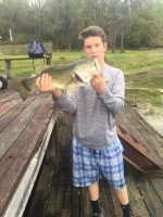 Tyler Hughes with a nice bass.